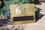 Frontplatten Alu neusilberfarben F2