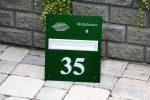 Frontplatten Alu grün eloxiert