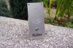 Amsico Sprech Klingelplatten Aluminium 1-1