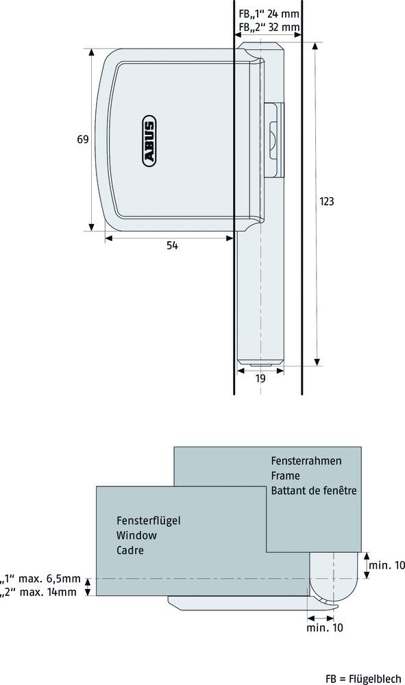 amsico sicherheitstechnik fenstersicherheit type ab. Black Bedroom Furniture Sets. Home Design Ideas